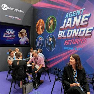 Microgaming introducerer Agent Jane Blonde Vender Tilbage på iGB Live!